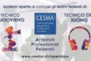 CESMA - Corso federale di Tecnico del Suono